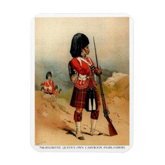 Queens Cameroon Highlanders Magnet