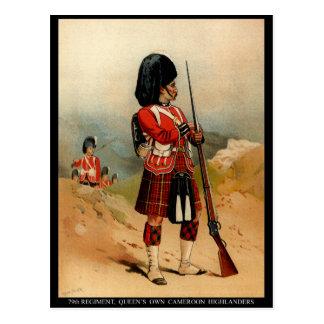 Queens Cameroon Highlanders Postcard