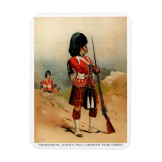 Queens Cameroon Highlanders Rectangular Photo Magnet