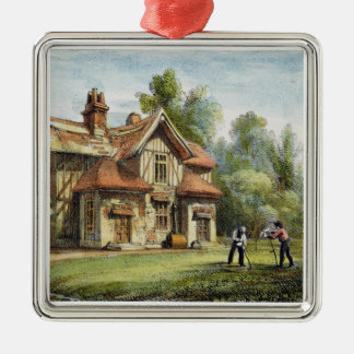 Queen's Cottage, Richmond Gardens, plate 17 from ' Metal Ornament