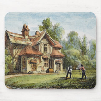 Queen's Cottage, Richmond Gardens, plate 17 from ' Mouse Pad