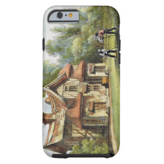 Queen's Cottage, Richmond Gardens, plate 17 from ' Tough iPhone 6 Case