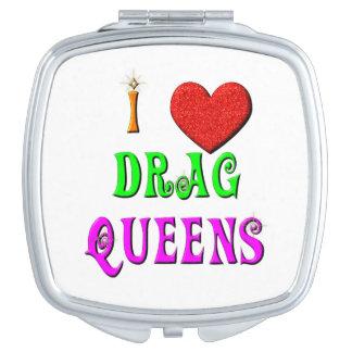 Queens de fricción del amor del KRW I Espejos Compactos