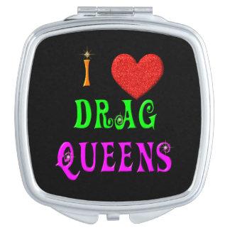 Queens de fricción del amor del KRW I Espejos De Maquillaje