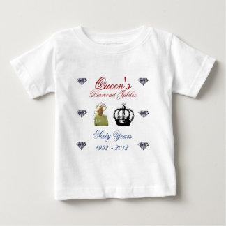 Queens Diamond Jubilee 1952-2012 60 Years Baby T-Shirt