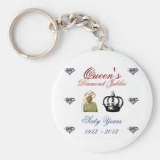 Queens Diamond Jubilee 1952-2012 60 Years Key Chains