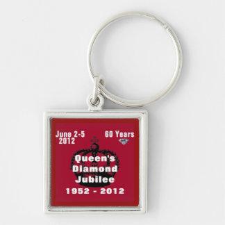 Queens Diamond Jubilee 1952-2012 Keychain