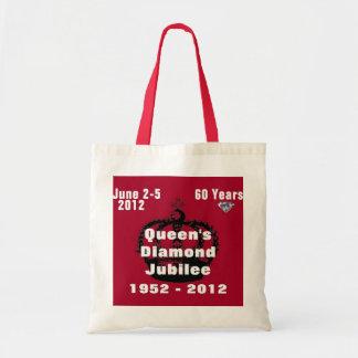 Queens Diamond Jubilee 1952-2012 Tote Bag