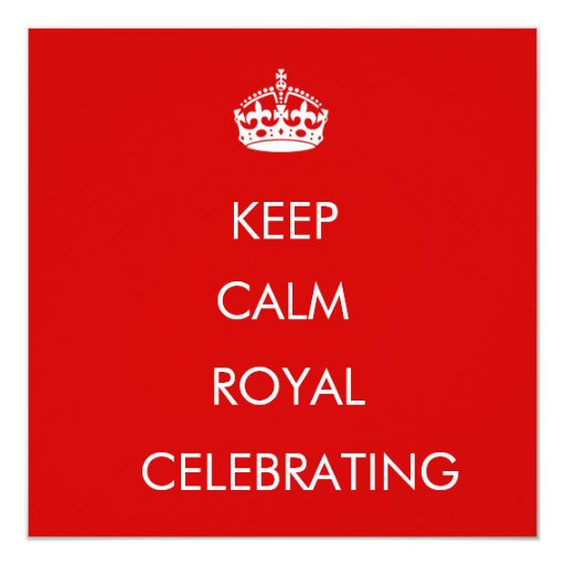 Queens Diamond Jubilee 2012 invite
