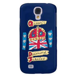 Queen's Diamond Jubilee 2012 Official Color Emblem Samsung Galaxy S4 Case