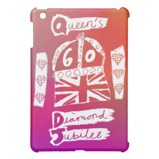 Queen's Diamond Jubilee 2012 Official White Emblem iPad Mini Cases