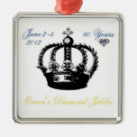 Queens Diamond Jubilee 2012 Ornament
