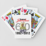 Queens Diamond Jubilee Playing Cards Bicycle Playing Cards