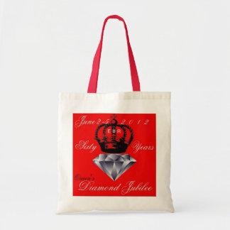 Queens Diamond Jubilee Tote Bag