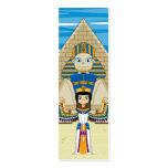 Queens egipcio Nefertiti y señal de Cleopatra Tarjetas De Visita