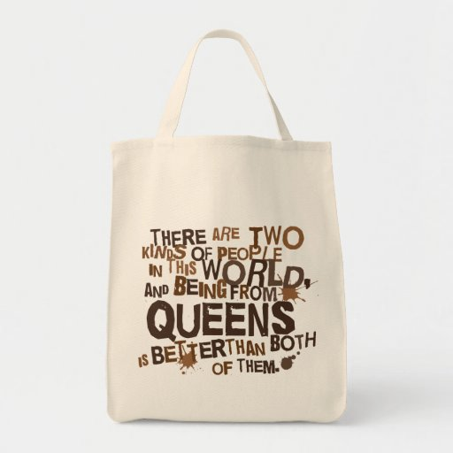 Queens (Funny) Gift Tote Bag