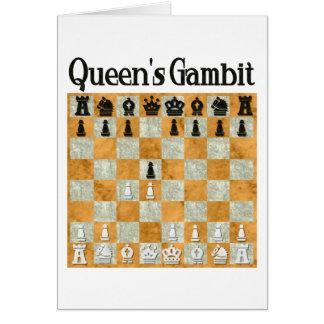 Queen's Gambit Card