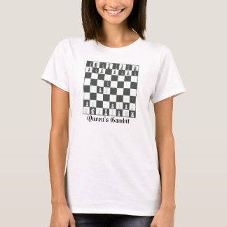 Queen's Gambit Chess T-Shirt