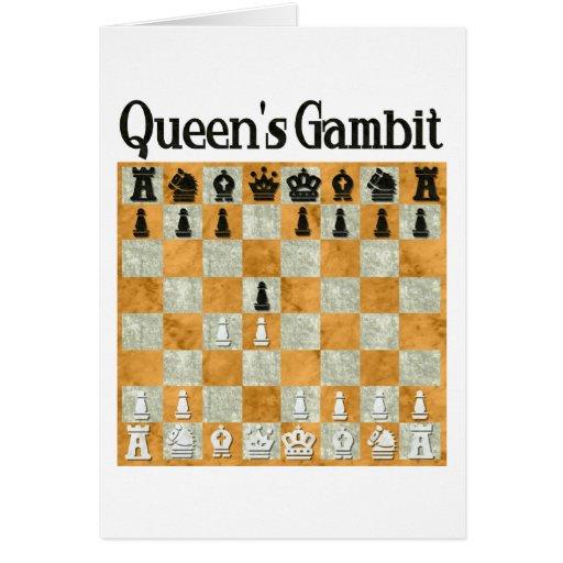 Queen's Gambit Greeting Card