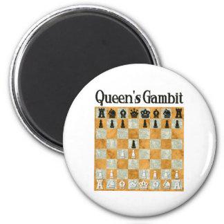 Queen's Gambit Magnet