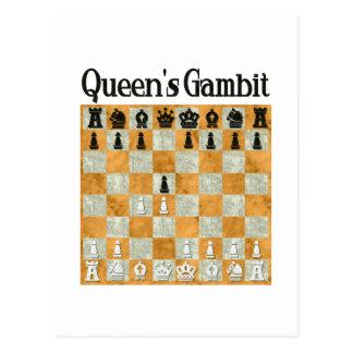 Queen's Gambit Postcard