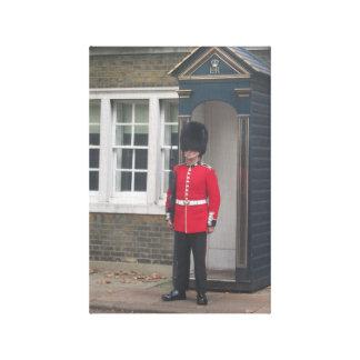 Queen's Guard Canvas Prints