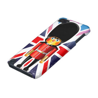 Queen's Guard Soldier Cartoon iPod Touch 5G Cases