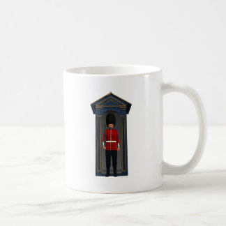 Queen's Guardsman In Shack Coffee Mug