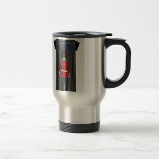 Queen's Guardsman In Shack Travel Mug