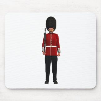 Queen's Guardsman Mouse Pad