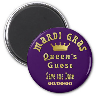 Queen's Guest Save the Date Magnet