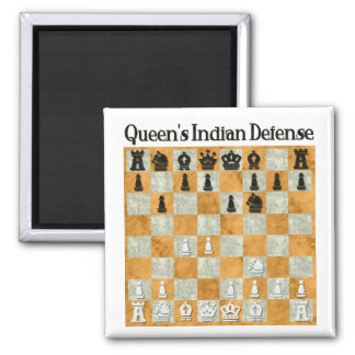Queen's Indian Defense Magnet
