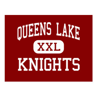Queens Lake - Knights - Middle - Williamsburg Postcard