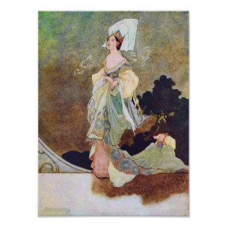 Queen's Maid of Honor Fairy Tale Poster