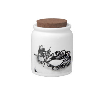 Queens Mask Candy Jars