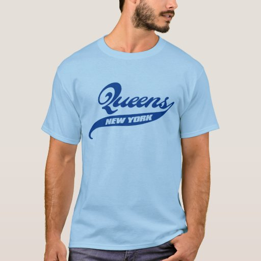 queens new york t shirt zazzle