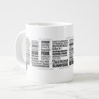 Queens New York Typography Mug