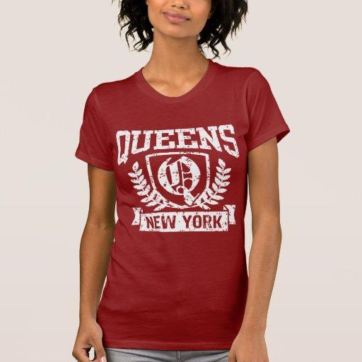 Queens Nueva York Playera