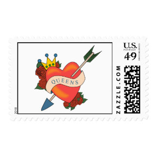 Queens NY Stamp