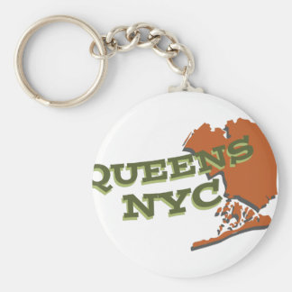 Queens NYC Keychain