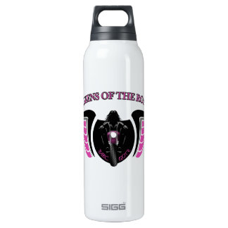 """Queens Of The Road"" Aluminum Insulated Water Bottle"