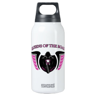 """Queens Of The Road"" Aluminum Thermos Water Bottle"