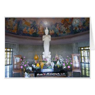 Queen's Pagoda Interior Card