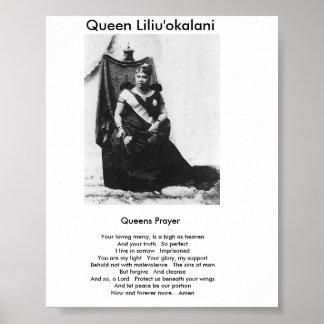 Queens Prayer Poster