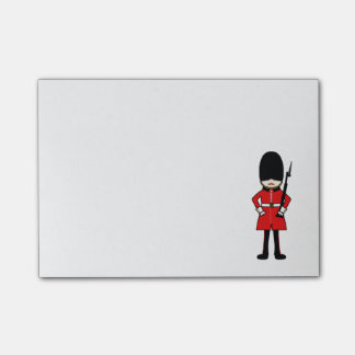 Queen's Royal Guard Post-it® Notes