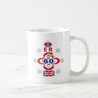 Queens Royal Jubilee stars design Coffee Mug