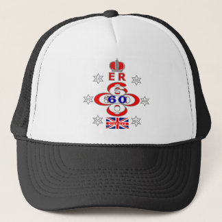 Queens Royal Jubilee stars design Trucker Hat