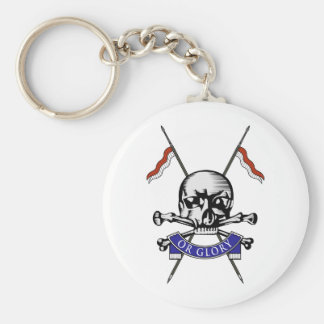 Queens Royal Lancers Key Chain