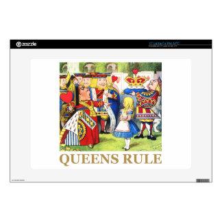 """Queens Rule 15"""" Laptop Skins"""