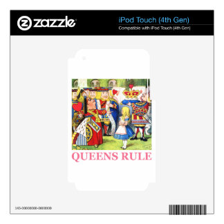 Queens Rule Decal For iPod Touch 4G